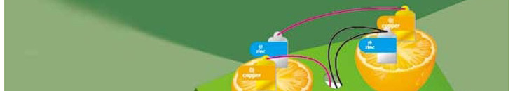 探索小子ek-d003水果发电实验