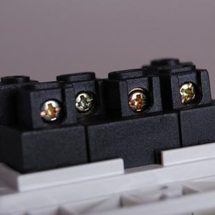 三联单控带荧光开关