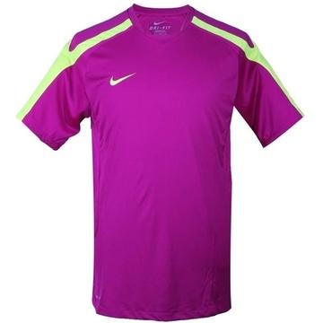 耐克(nike)405759-517足球训练短袖针织衫(紫色)